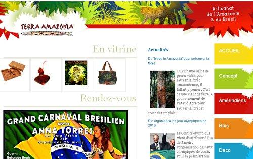 Terra Amazonia, artisans du Brésil